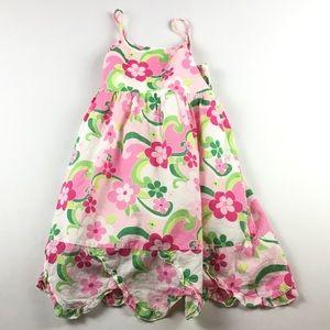 Gymboree Girls Size 7 Floral Cotton Dress